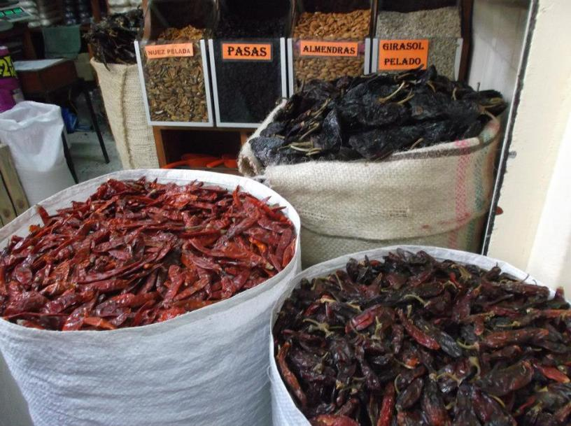 Market in Oaxaca, Mexico