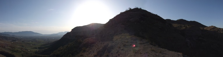 Panoramic of the Guadalhorce Valley