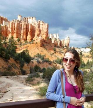 Me in Bryce Canyon National Park