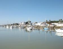 View from the catamaran from El Puerto de Santa María to Cádiz