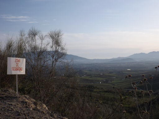View of Guadalhorce Valley