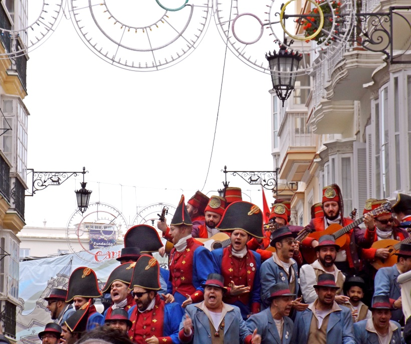 Another singing group at Cádiz carnival