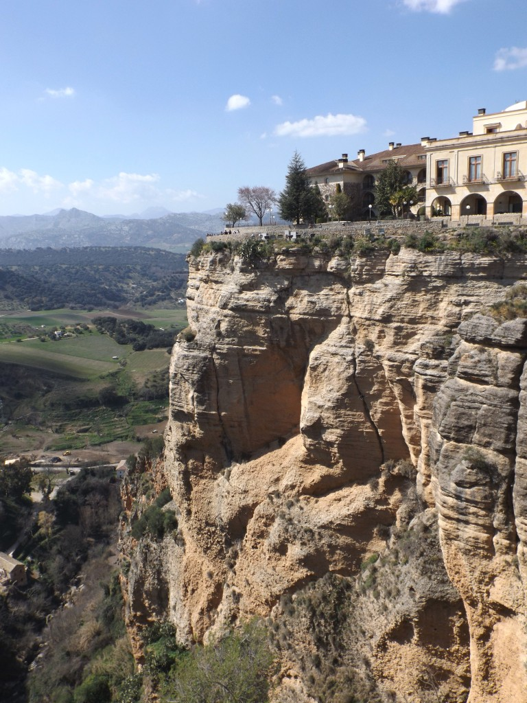 View of the gorge in Ronda