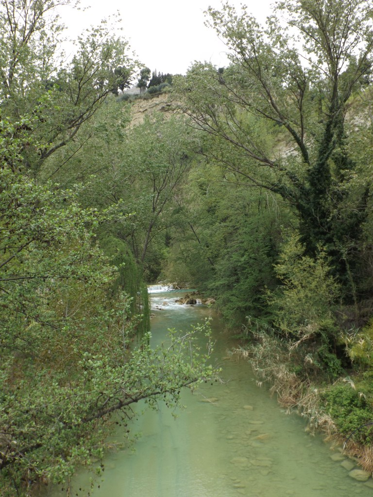 River-side walk in Ascoli