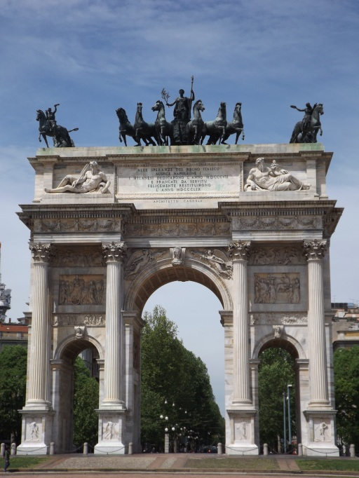 Peace Arch (Arco della Pace), Milan