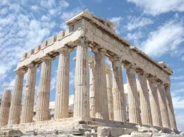 The magnificent Parthenon