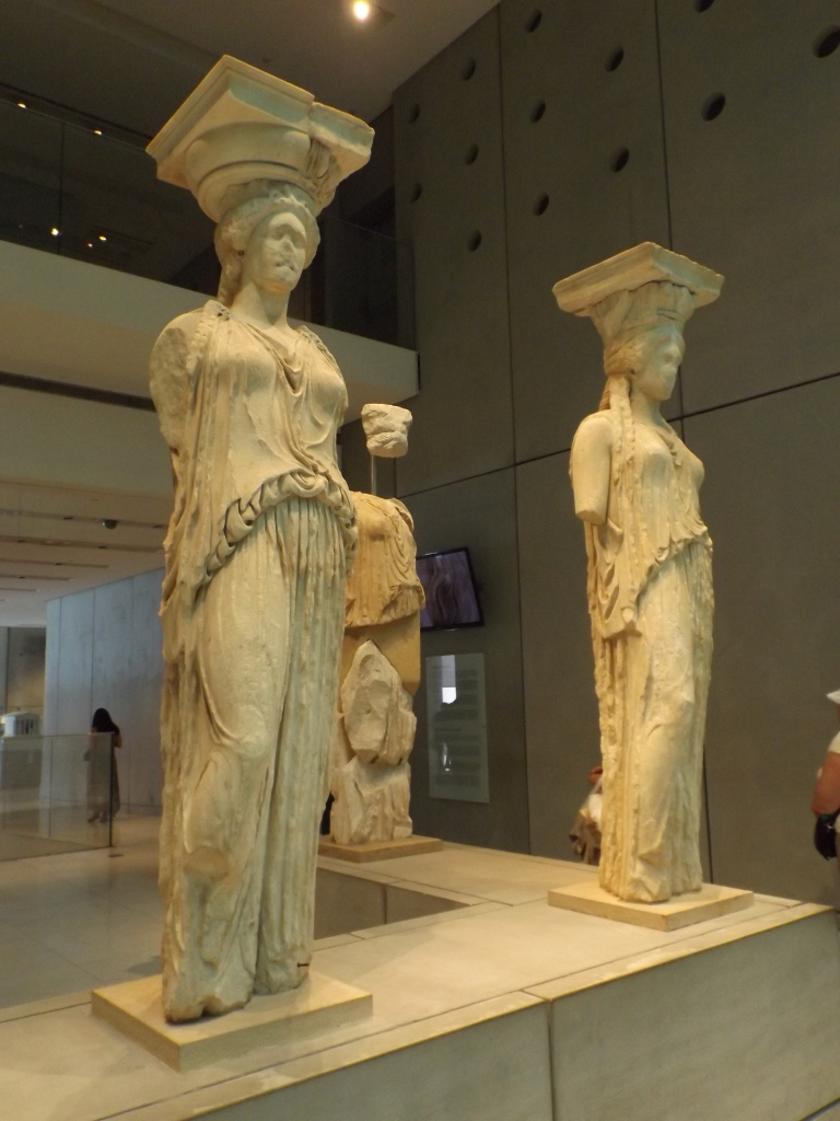 Caryatids in the Acropolis Museum