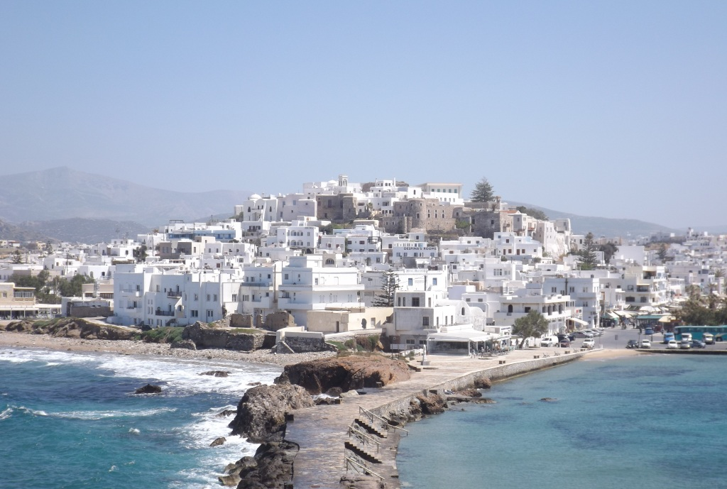 Sun-Drenched Naxos Island