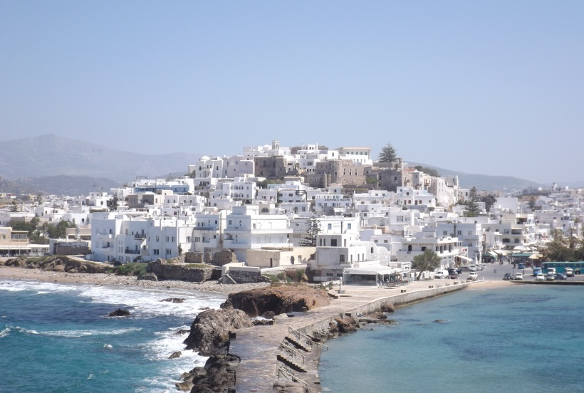 Sun-Drenched Naxos Island