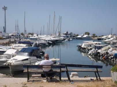 Boats in Glyfada
