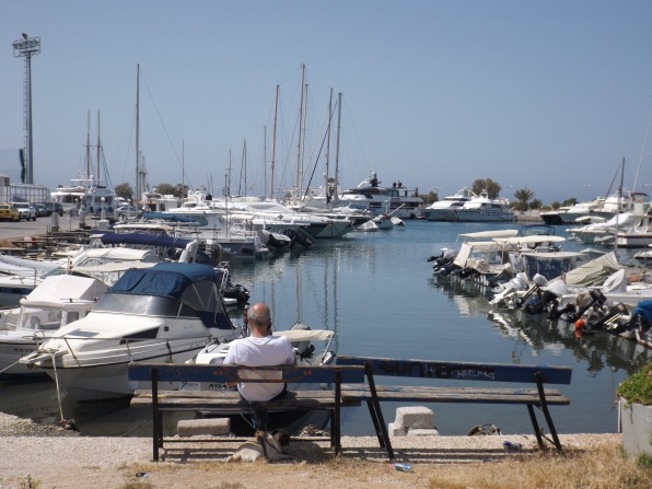 Boats in Glyfada