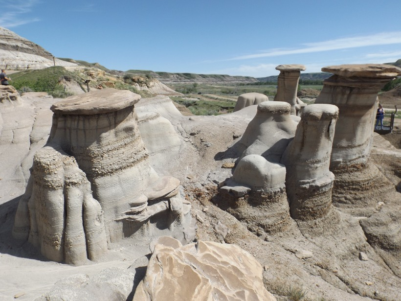 Hoodoos on the Hoodoo Drive, Alberta