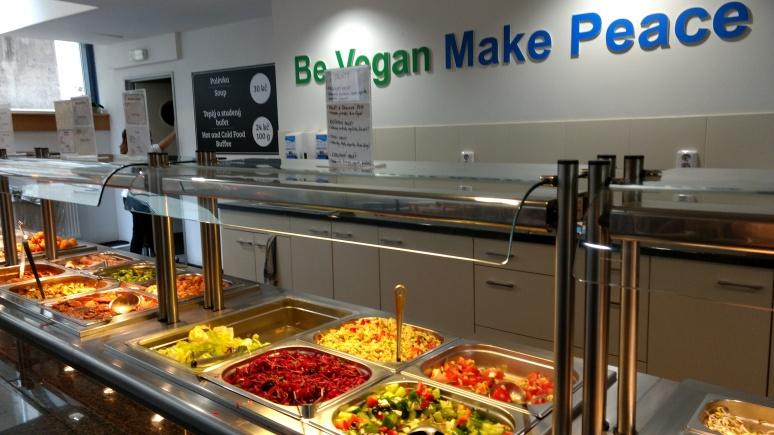 Great vegetarian food in Prague