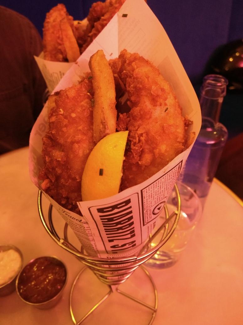 Fish & Chips in Barcelona
