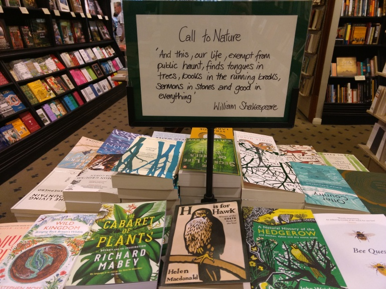 Wildlife and Nature Books in Hatchards, London