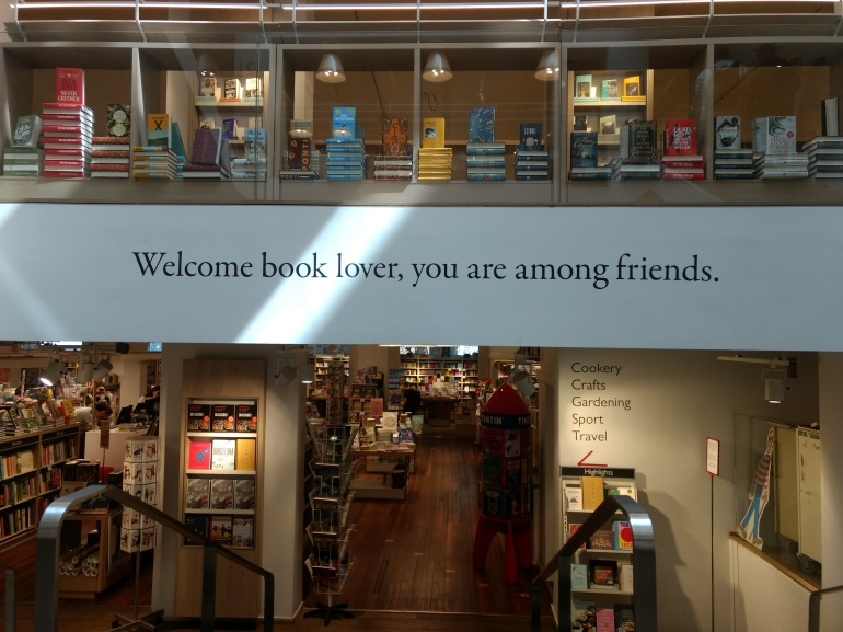A Warm Welcome from Foyles, London